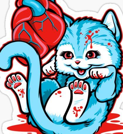 Cat Got Your Heart? Sticker