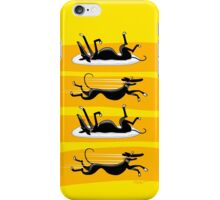Zoomin' Snoozin iPhone iPhone Case/Skin