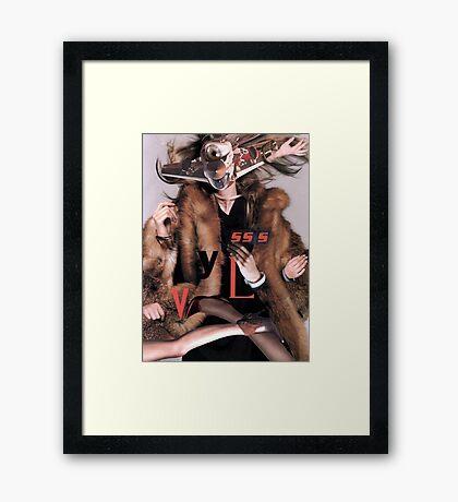 Futurismo 1. Framed Print
