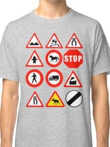 Road Signs Classic T-Shirt