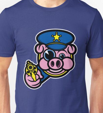 PIGGY COP Unisex T-Shirt