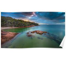 Freycinet Sunset, Tasmania Poster