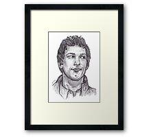 Jake Peralta Framed Print