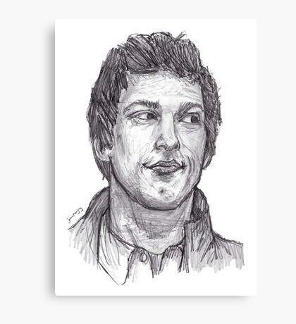 Jake Peralta Canvas Print