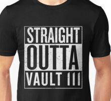 Straight Outta Vault 111 Unisex T-Shirt