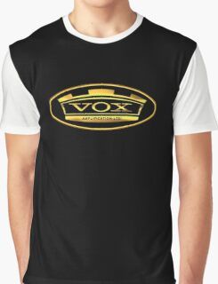 Gold Vox Amp Graphic T-Shirt