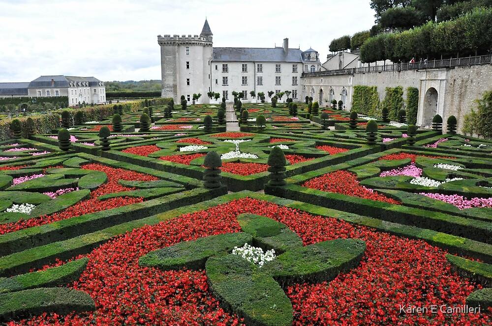Chateau Villandry Gardens by Karen E Camilleri