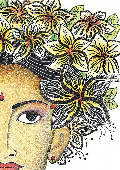 Balinese Lady by iamdinda