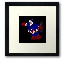 Captain Griffin Framed Print