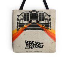 Back To The Future minimalist Tote Bag