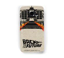 Back To The Future minimalist Samsung Galaxy Case/Skin