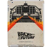 Back To The Future minimalist iPad Case/Skin