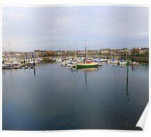 Bangor Harbour And Marina Poster