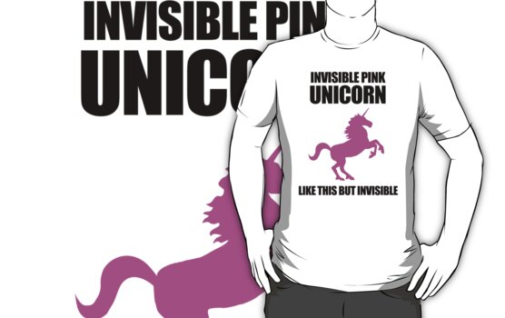 Invisible Pink Unicorn by jezkemp