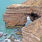 A hole in the Kalbarri Coast by Graeme  Hyde