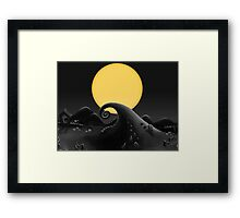 Halloween Town - The Nightmare Before Christmas Framed Print