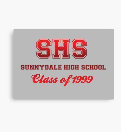 Sunnydale High School Canvas Print