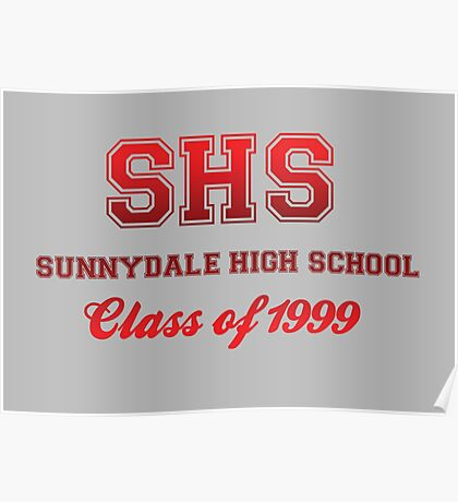 Sunnydale High School Poster