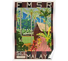 Vintage poster - Malaya Poster