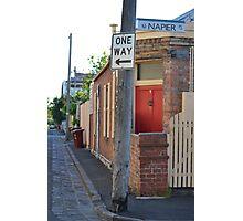 South Melbourne Streetscape Photographic Print