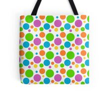 Colour Polka Dot Pattern Tote Bag