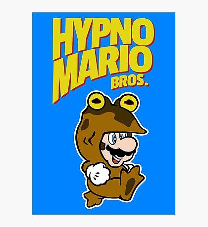 HypnoMario Bros Photographic Print