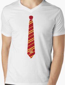 Gryffindor Tie Mens V-Neck T-Shirt