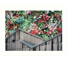 Party On The Roof Art Print