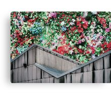 Party On The Roof Canvas Print