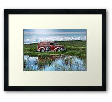 Ford - Wet To The Knees Framed Print