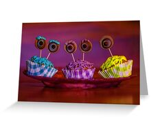 monster inc cupcakes Greeting Card