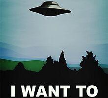 I Want To believe by ICECHIBII