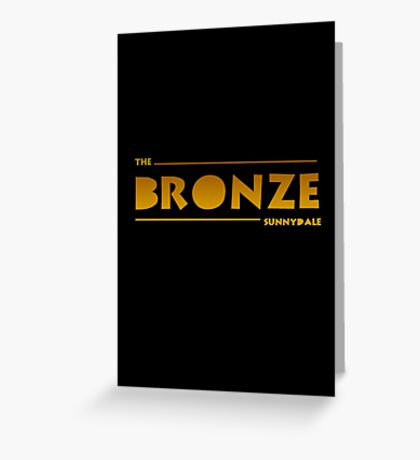 The Bronze, Sunnydale Greeting Card