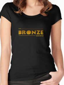 The Bronze, Sunnydale Women's Fitted Scoop T-Shirt
