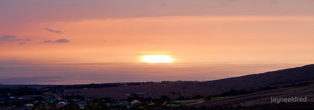 Sunset Over Hawi by jayneeldred