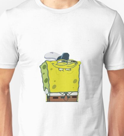 Seedy Spongebob - No Text Unisex T-Shirt