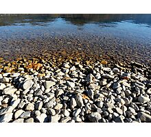 Gravel Beach Photographic Print