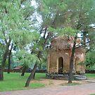 Pagoda of the Heavenly Lady Hue Vietnam by Julie Sherlock