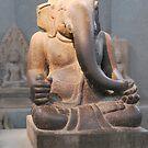 Ganesh Champa Museum Hue Vietnam by Julie Sherlock