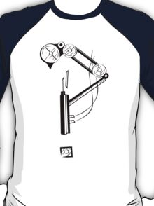Mechanical Steampunk Interrobang T-Shirt