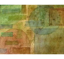 Watercolor Shapes Photographic Print