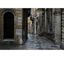 Streetscape in Baroque Photographic Print