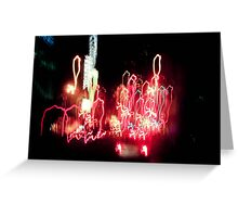 Light Drips Greeting Card