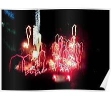 Light Drips Poster