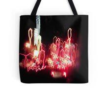 Light Drips Tote Bag