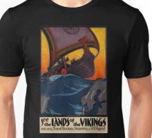 Vintage poster - Scandanavia Unisex T-Shirt