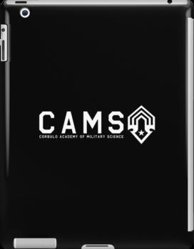 CAMS Light Logo and Name by Christopher Bunye