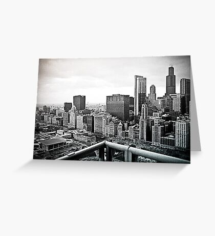 A View of Chicago Greeting Card