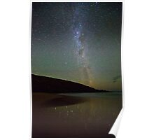 Galaxy view from Parsons Beach Poster