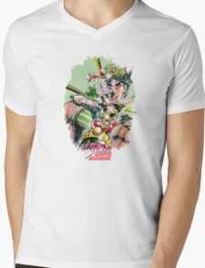 JoJo's Bizarre Adventure - Joseph Joestar Mens V-Neck T-Shirt